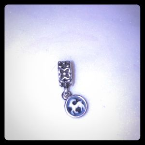 Pandora Blue Agate Capricorn Dangle Charm